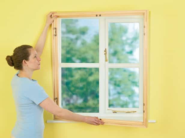 Nye vinduer montering